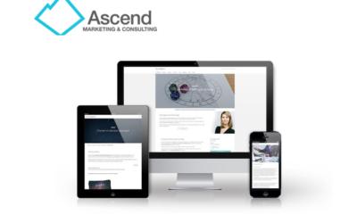 Construction Website Designed by Ascend Marketing