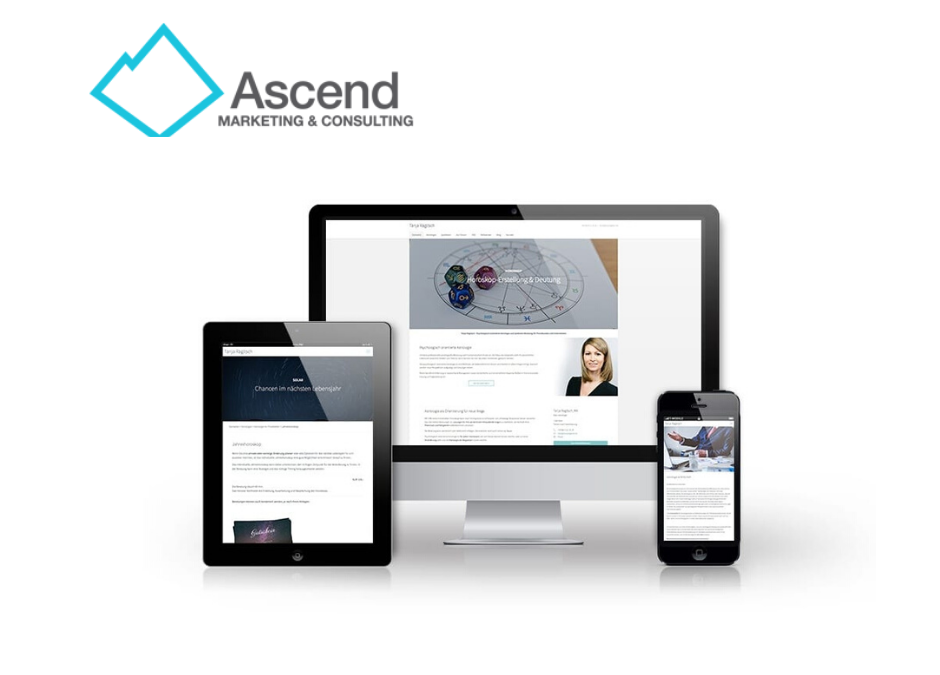 Construction Website Designed by Ascend