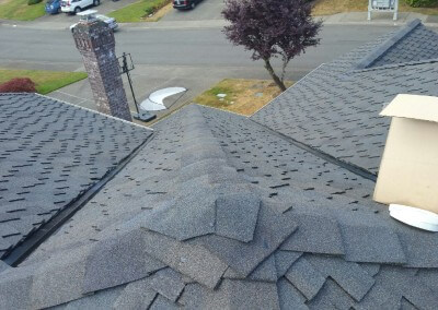 Detailed Peak Flashing roofer bothell